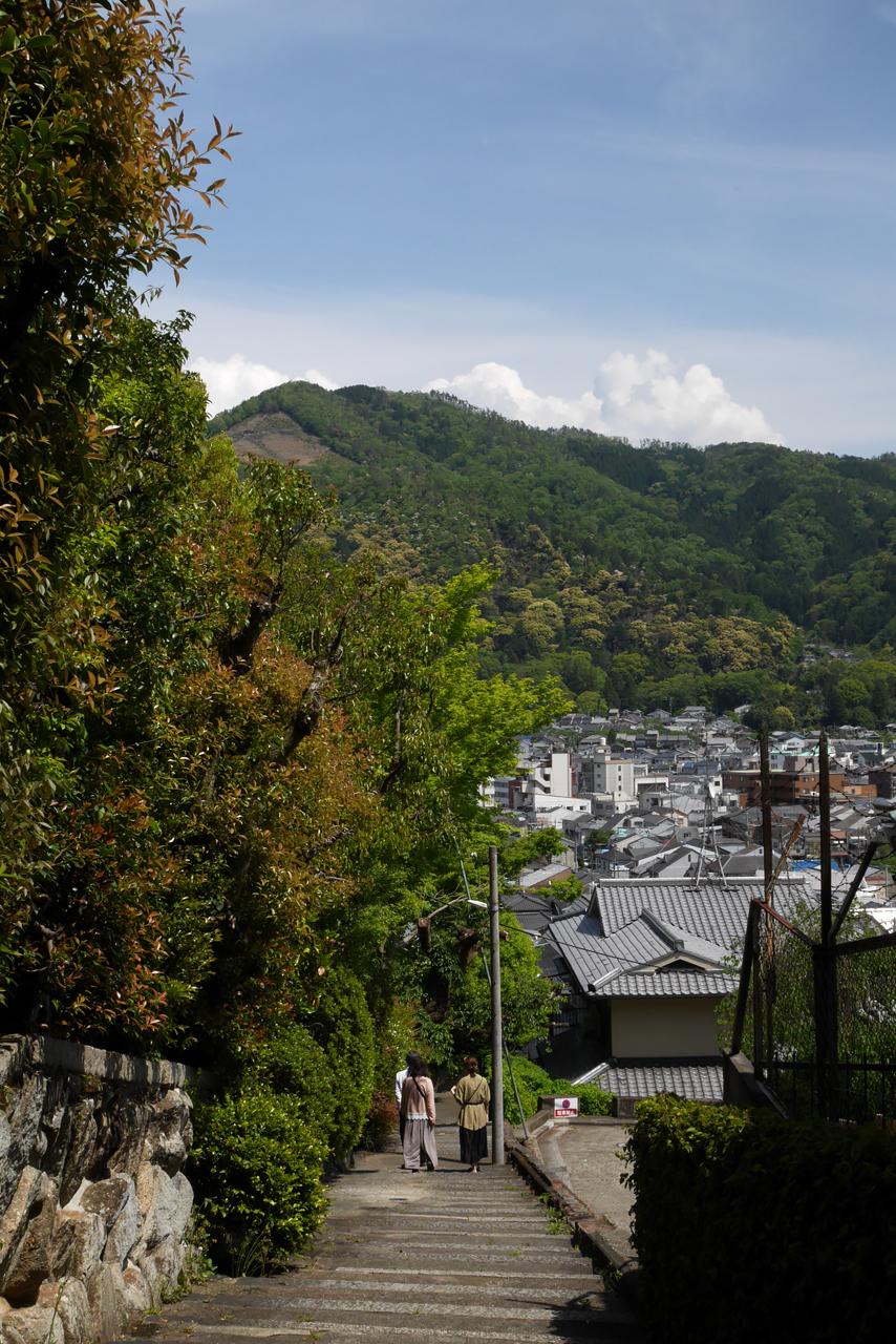 吉田山から