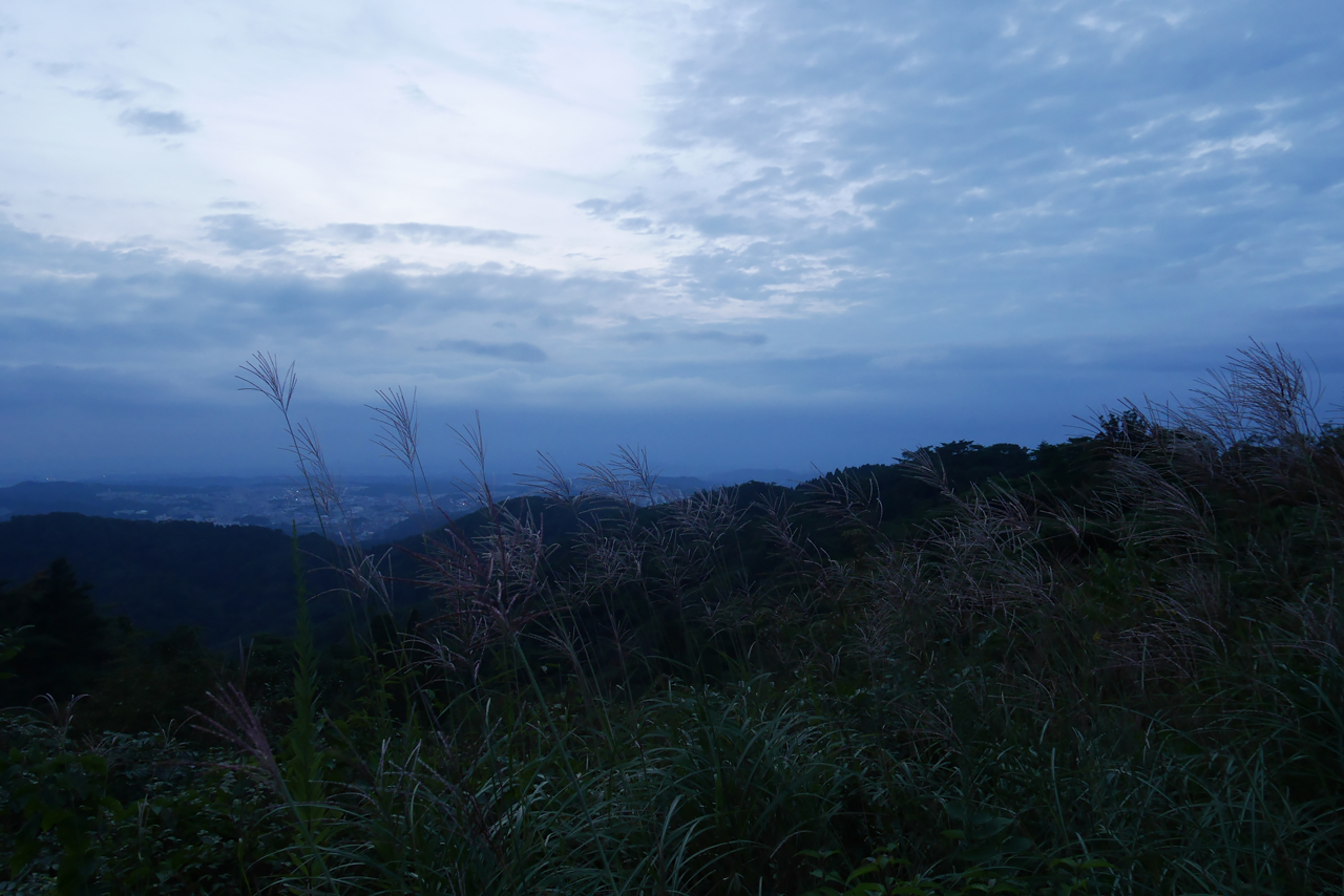 evening sky from mt.maya