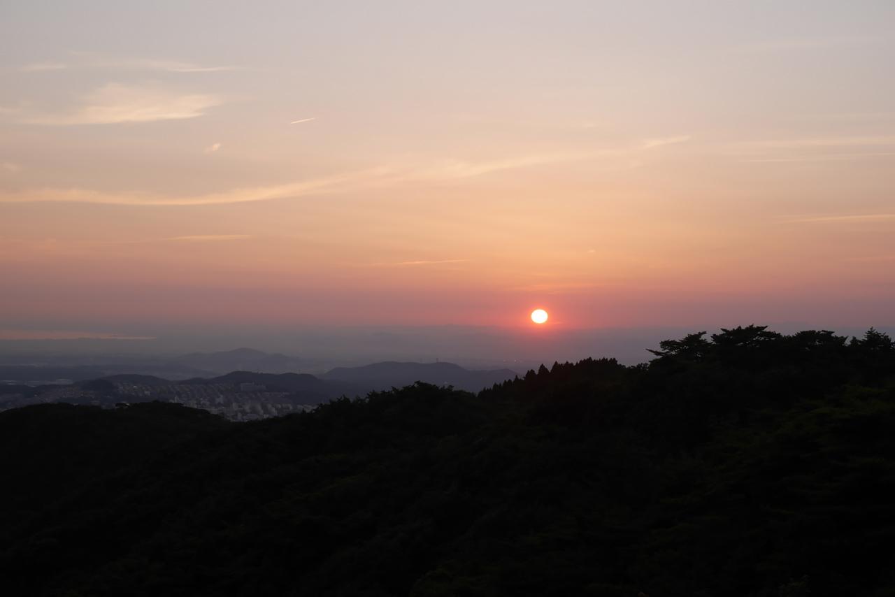 夕空3 摩耶山から